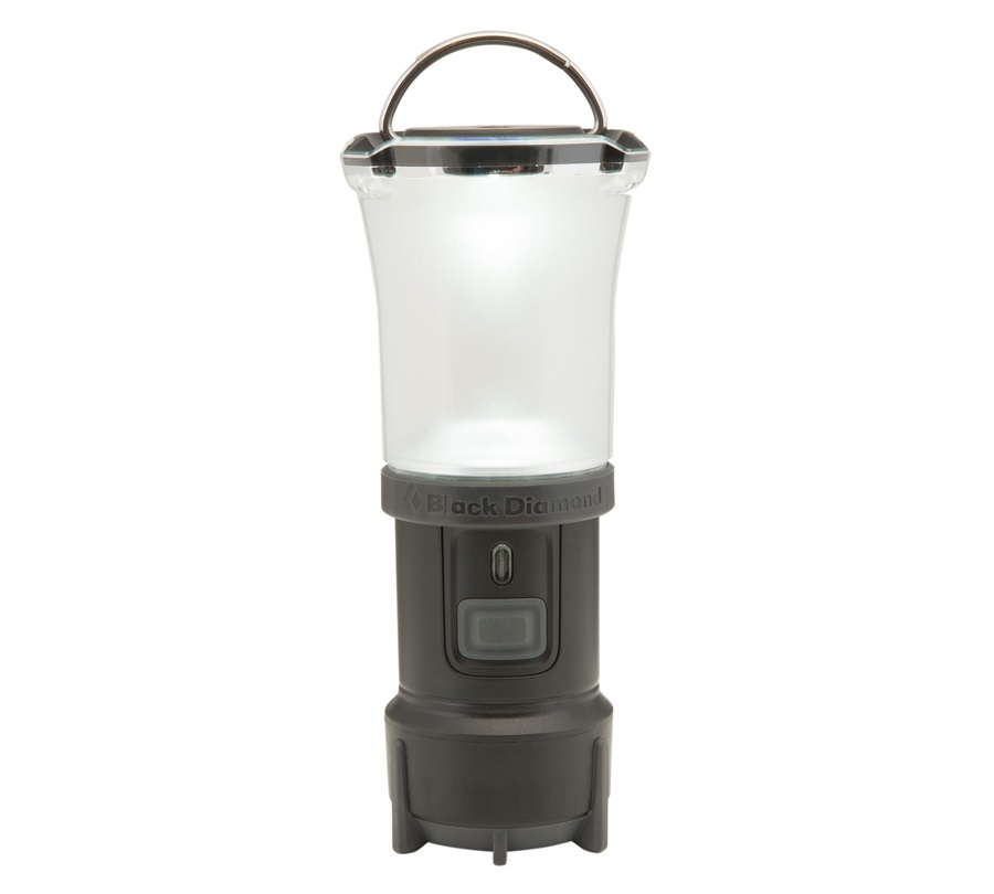 Black Diamond Voyager Lantern X Flashlight, Matte Black