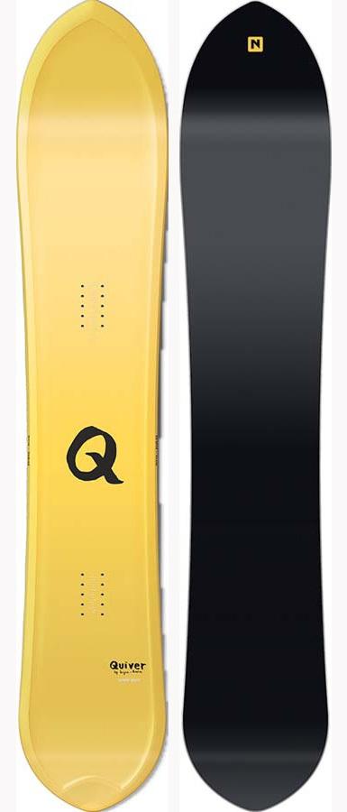 Nitro Quiver Slash Hybrid Camber Snowboard 163cm 2018