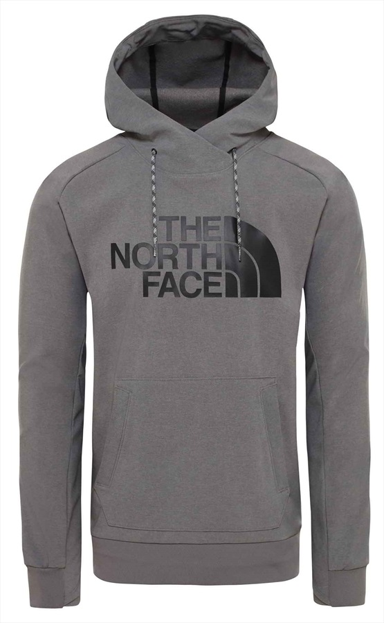 The North Face Tekno Logo Hoodie XL Medium Grey Heather