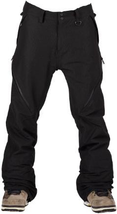 Bonfire Zone 2L Stretch Ski/Snowboard Pants, M Black