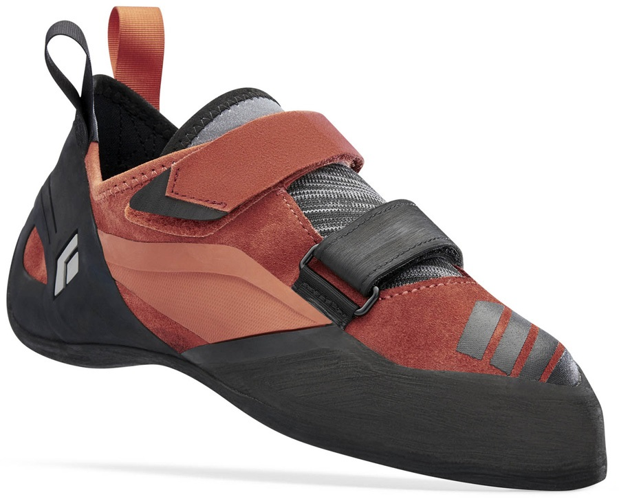 Black Diamond Focus Rock Climbing Shoe: UK 11.5 | 46.5, Rust