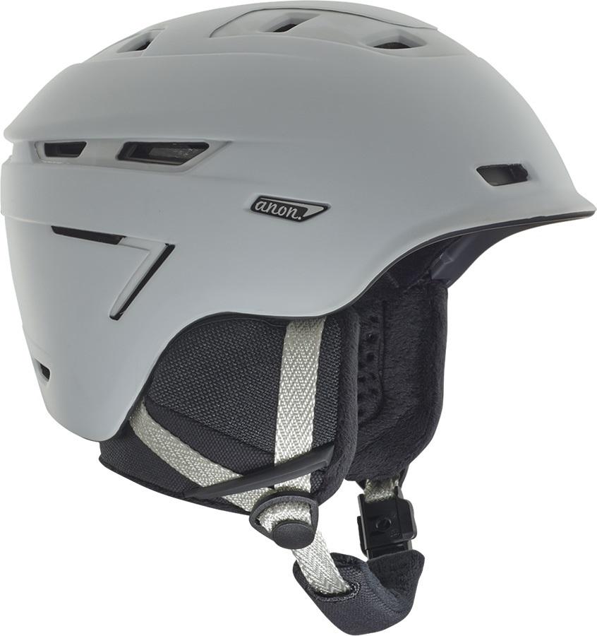 Anon Omega MIPS Women's Ski/Snowboard Helmet, S Marble White