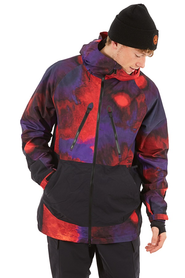 thirtytwo Mullair Ski/Snowboard Jacket, M Black/Purple