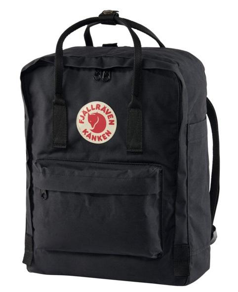 Fjallraven Kanken Backpack, 16L Black