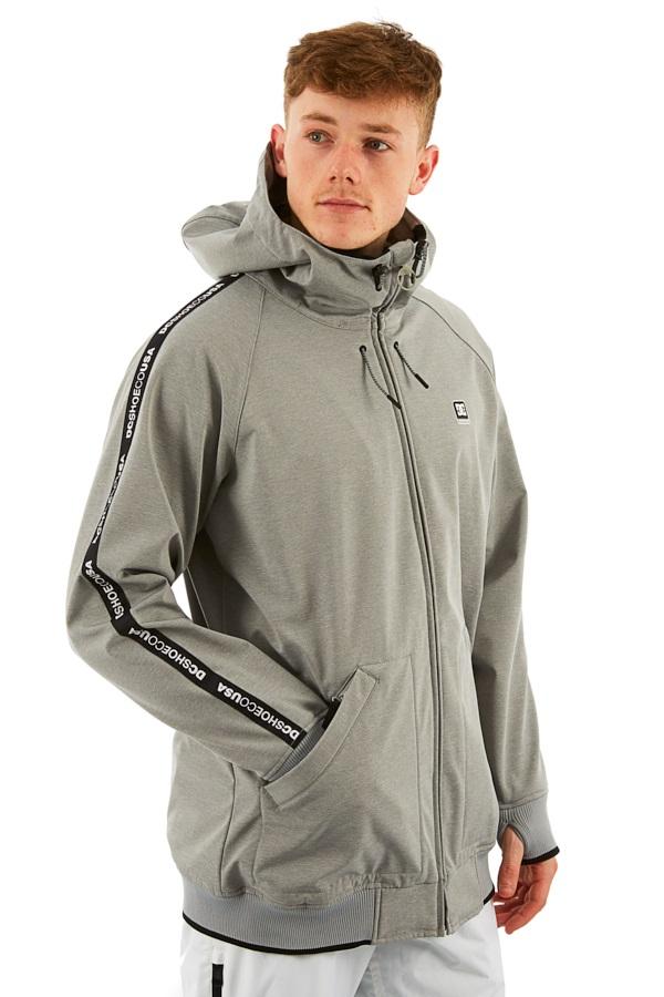 DC Spectrum Ski/Snowboard Softshell Jacket, M Natural Grey Heather