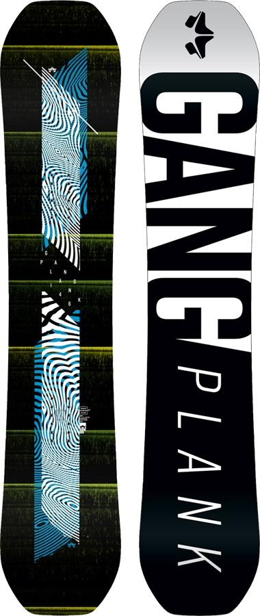 Rome Gang Plank Reverse Camber Snowboard, 146cm 2018