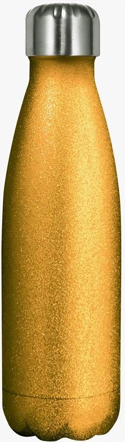 Myga Stainless Steel Water Bottle, 500ml Glitter Gold