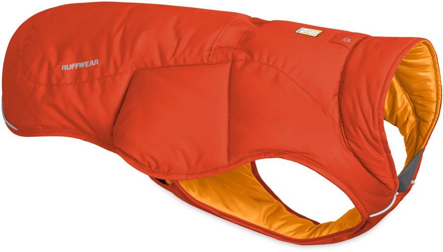 Ruffwear Quinzee Jacket Insulated Dog Coat, M Sockeye Red