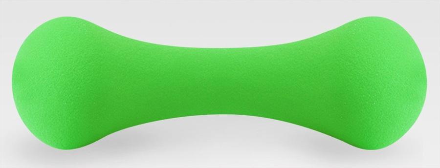Phoenix Fitness Soft Grip Dumbbells/Weights, 1KG Green