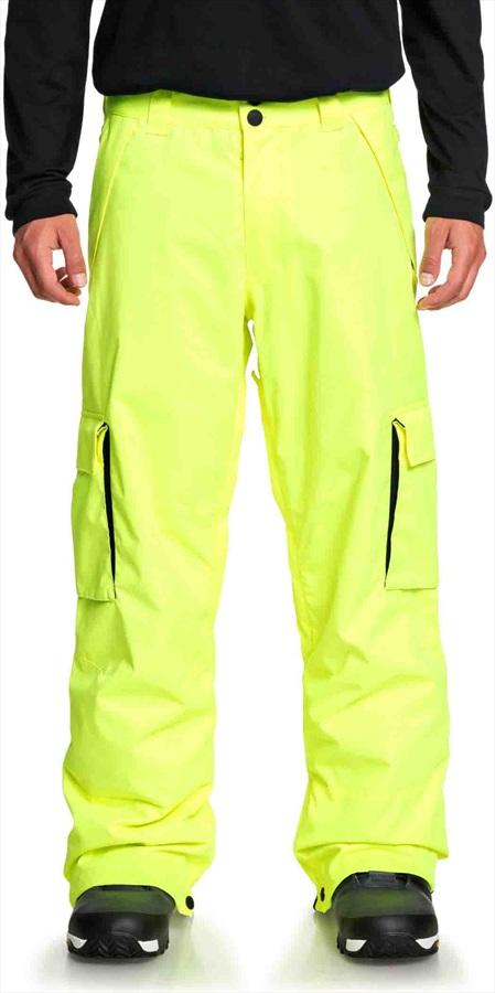 DC Banshee Ski/Snowboard Pants, S Safety Yellow