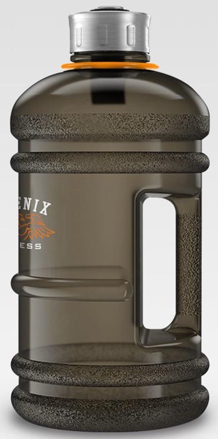 Phoenix Fitness Gym Hydration/Water Bottle, 1L Smoke