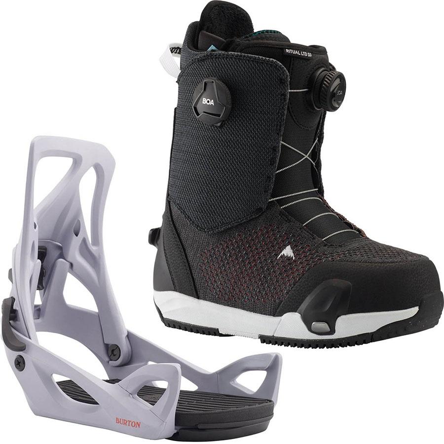 Burton Ritual LTD BOA Step On, Womens Snowboard Binding & Boots UK 4.5