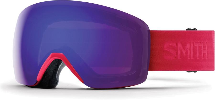 Smith Skyline CP Violet Snowboard/Ski Goggles, M B4BC