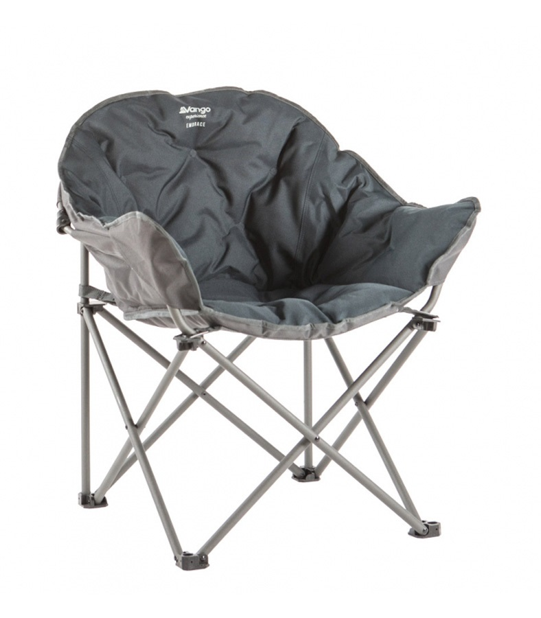Vango Embrace Folding Camp Chair, Granite Grey