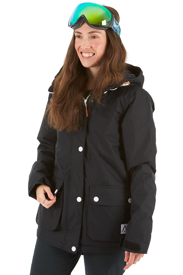 Wearcolour Ida Women's Ski/Snowboard Jacket, L All Black