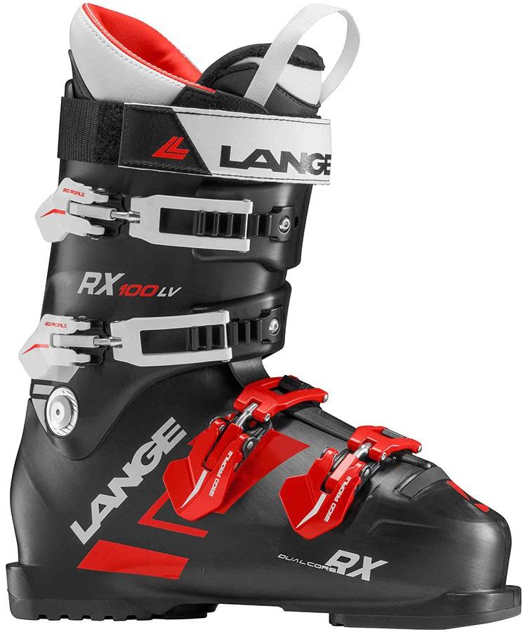Lange RX 100 L.V. Ski Boots, 30/30.5 2019
