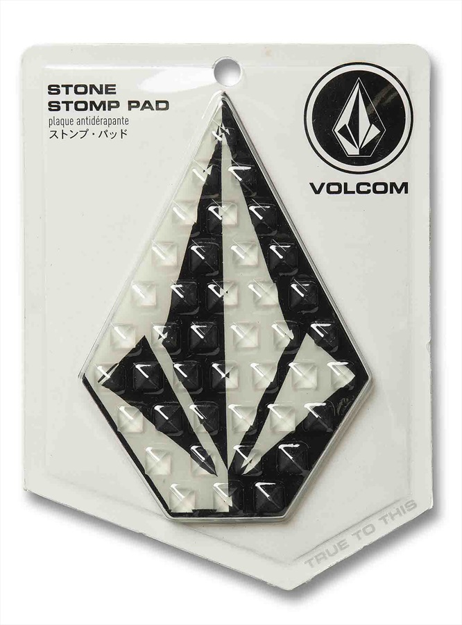 Volcom Snowboard Stomp Pad Traction Mat Black