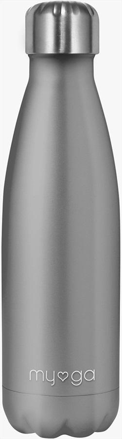 Myga Stainless Steel Water Bottle, 500ml Grey
