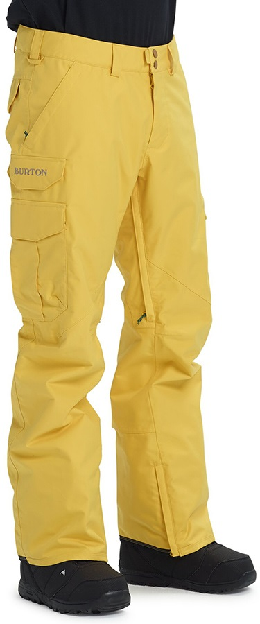Burton Cargo Relaxed Fit Snowboard/Ski Pants, XS Maize