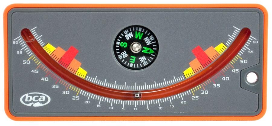 BCA Slope Meter Snow Study Inclinometer, Orange