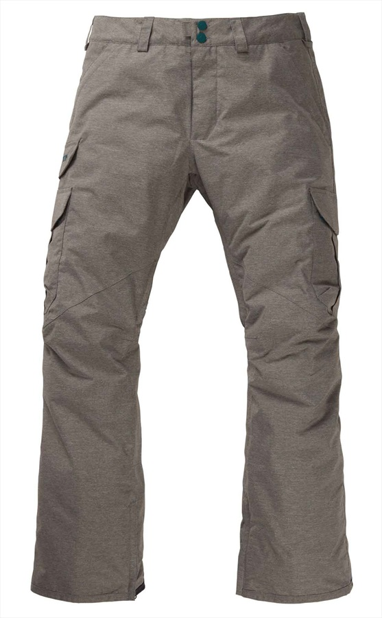 Burton Cargo Snowboard/Ski Pants, L Shade Heather 2020
