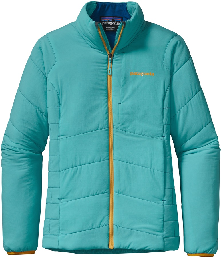 Patagonia Women's Nano Air Jacket Insulated Stretch UK14 Turquoise