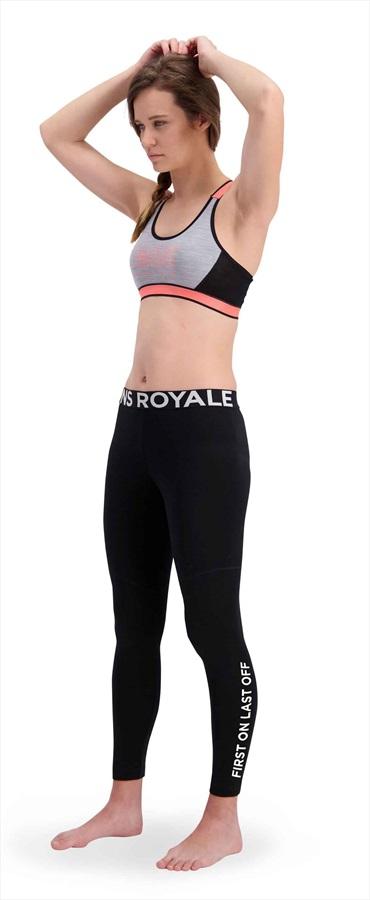 Mons Royale Christy Women's Merino Wool Leggings XS Black