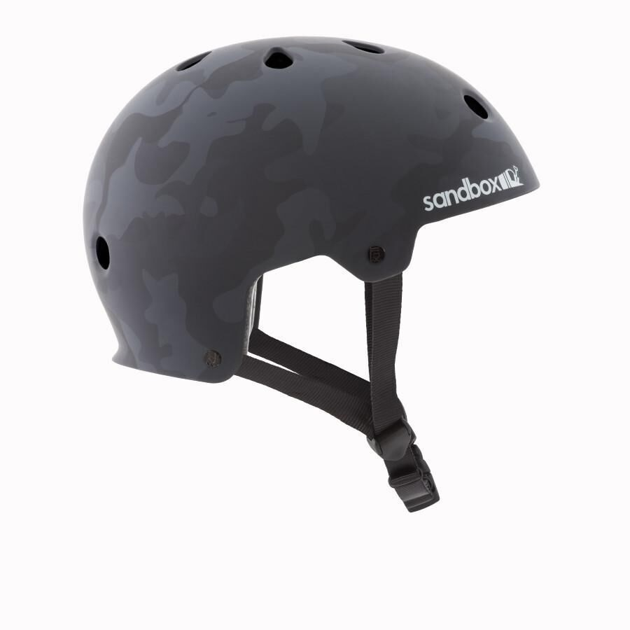 Sandbox Legend Low Rider Wakeboard Helmet, L Black Camo 2019