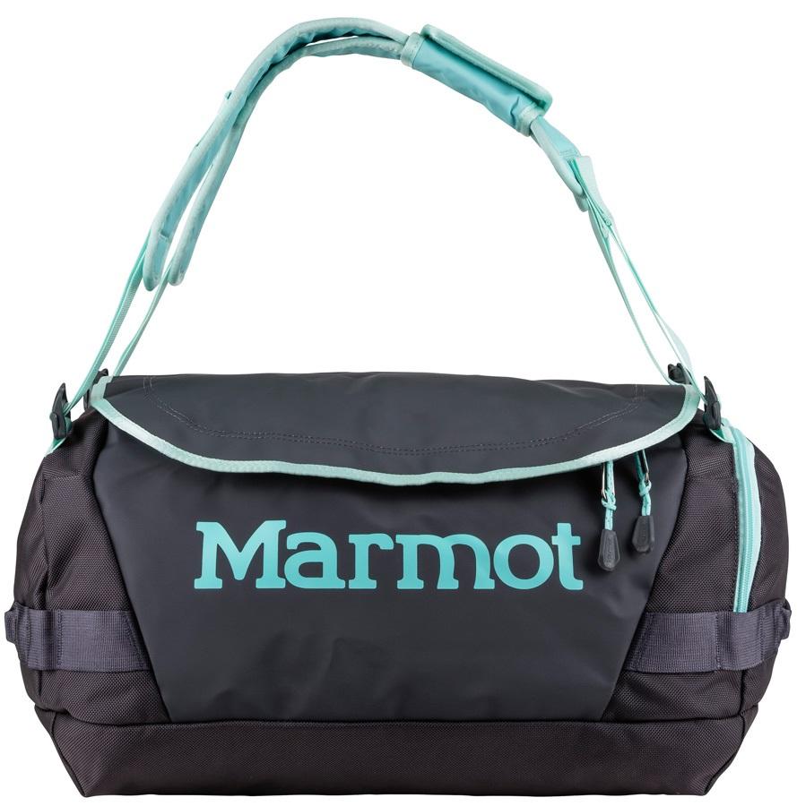 Marmot Long Hauler Duffel Travel Bag - 35L, Dark Charcoal / Blue Tint
