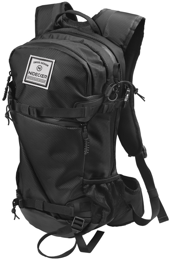 Nidecker Summit Backpack Mountain Rucksack, 16L Black