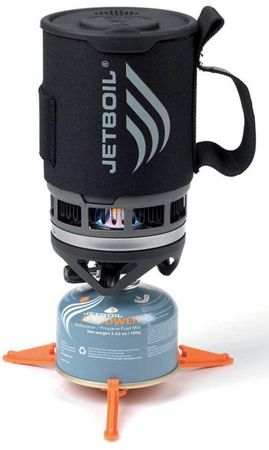 Jetboil Zip Cooking System Quick Boil Camp Stove, 0.8L Carbon
