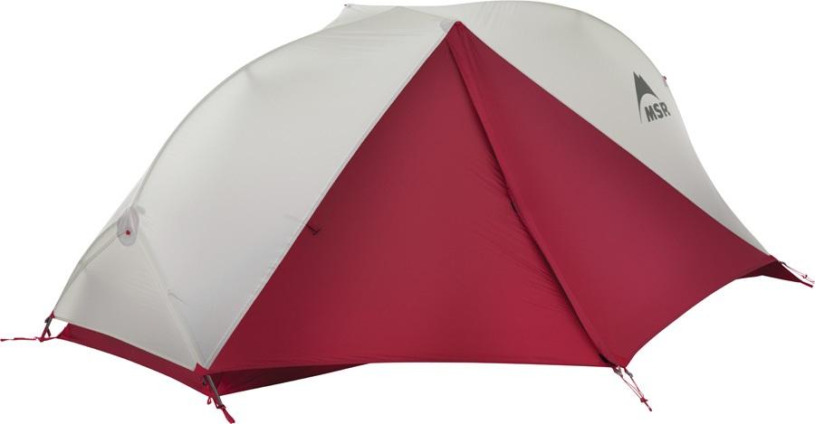 MSR FreeLite 1 V2 Ultralight Backpacking Tent, 1 Man Grey