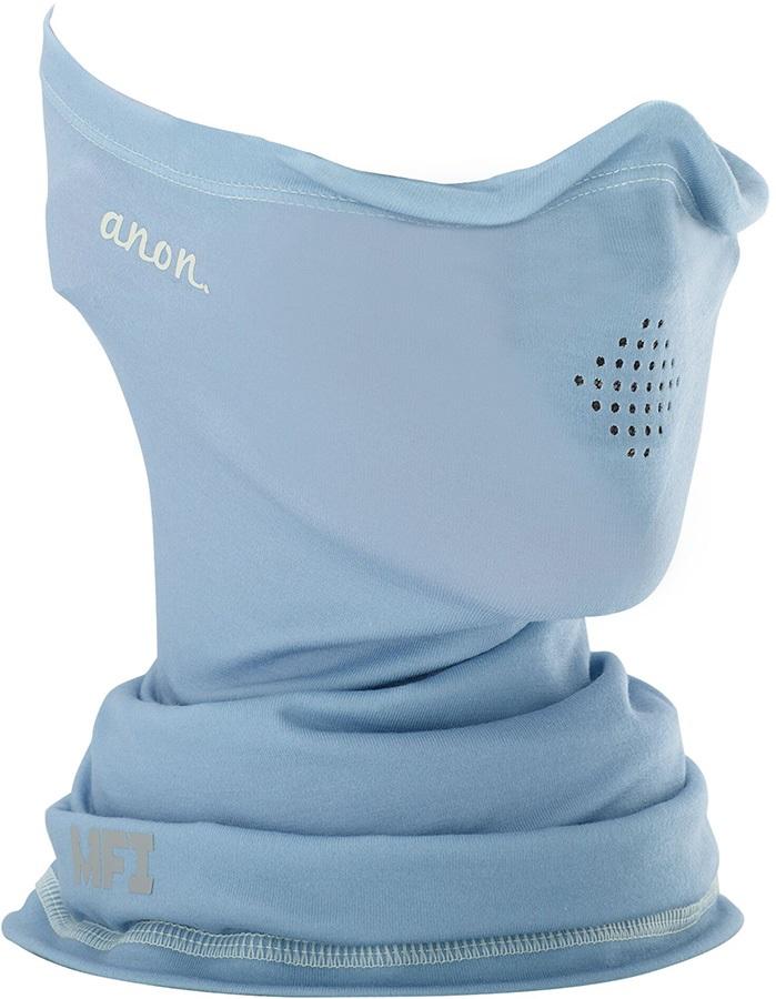 Anon Lightweight Neckwarmer Women's MFI Facemask Relaxed Fit Grey