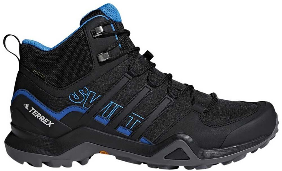 Adidas Terrex Swift R2 Mid GTX, UK 11.5 Core Black/Bright Blue