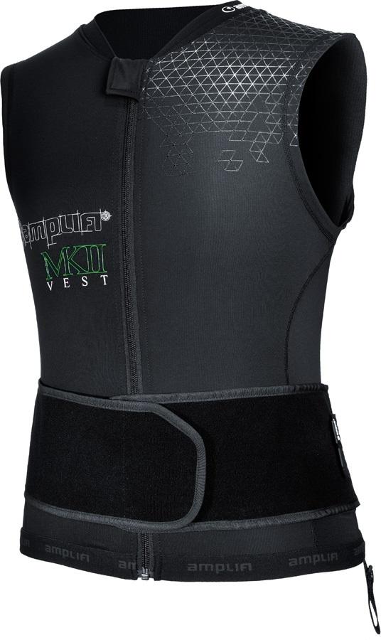 Amplifi MK II Ski/Snowboard Impact Jacket, XS/S Black/Green