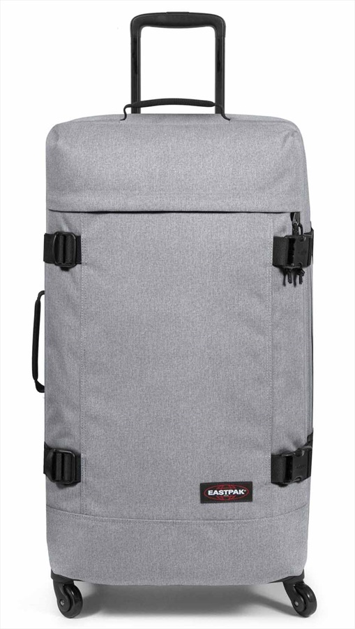Eastpak Trans4 L Wheeled Bag/Suitcase, 80L Sunday Grey