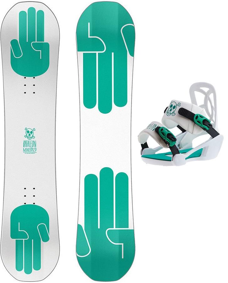 Bataleon Mini Shred Kids Snowboard & Binding Package