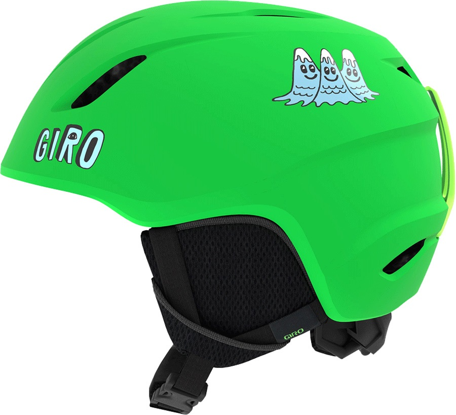 Giro Launch Kids Ski/Snowboard Helmet, XS Bright Green Tagazoo