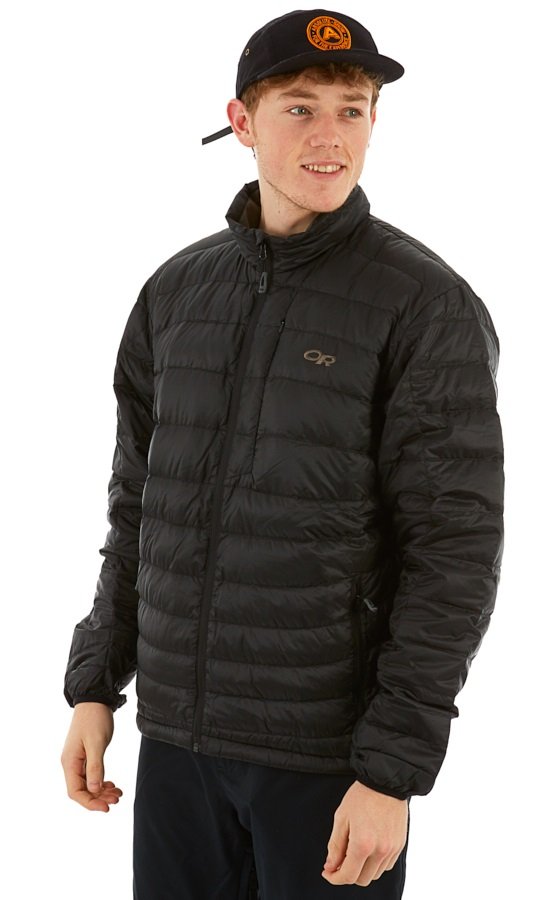 Outdoor Research Transcendent Down Sweater Insulated Jacket, L Black