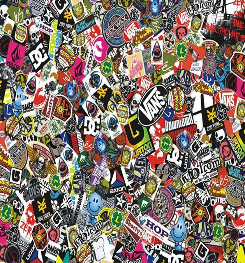 Absolute Sticker Packs Stickers, Small, Various