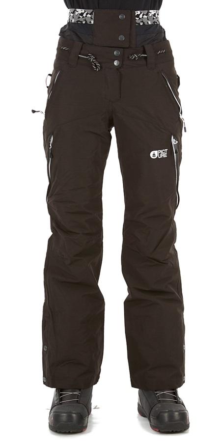 Picture Treva Women's Ski/Snowboard Pants, S Black