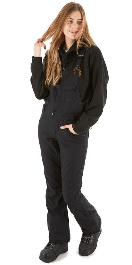 Volcom Swift Bib Overall Women's Snowboard & Ski Pants XS Black