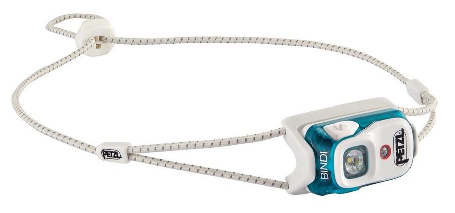 Petzl Bindi Ultralight Headtorch, 200 Lumens Emerald
