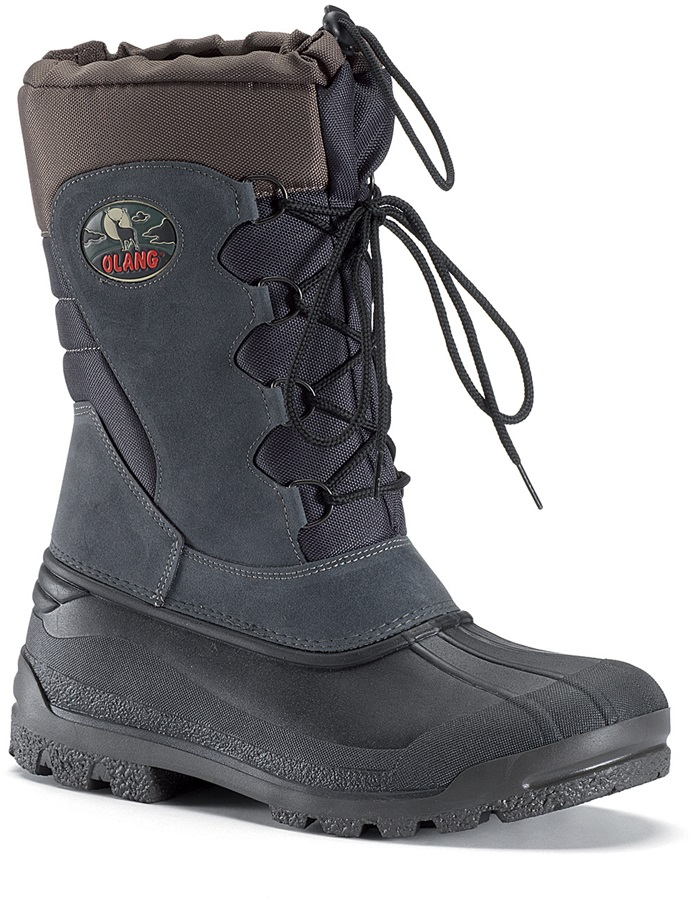 Olang Canadian Winter Snow Boots UK 9.0/9.5 Anthracite