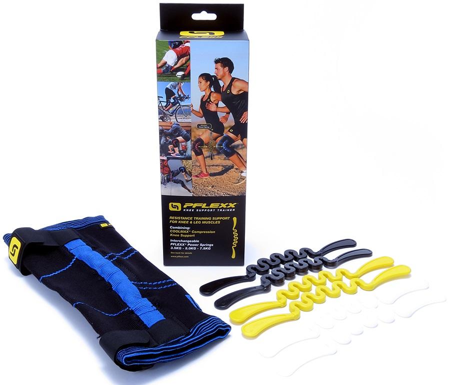 PFlexx Compression Knee Support Trainer, XL Blue