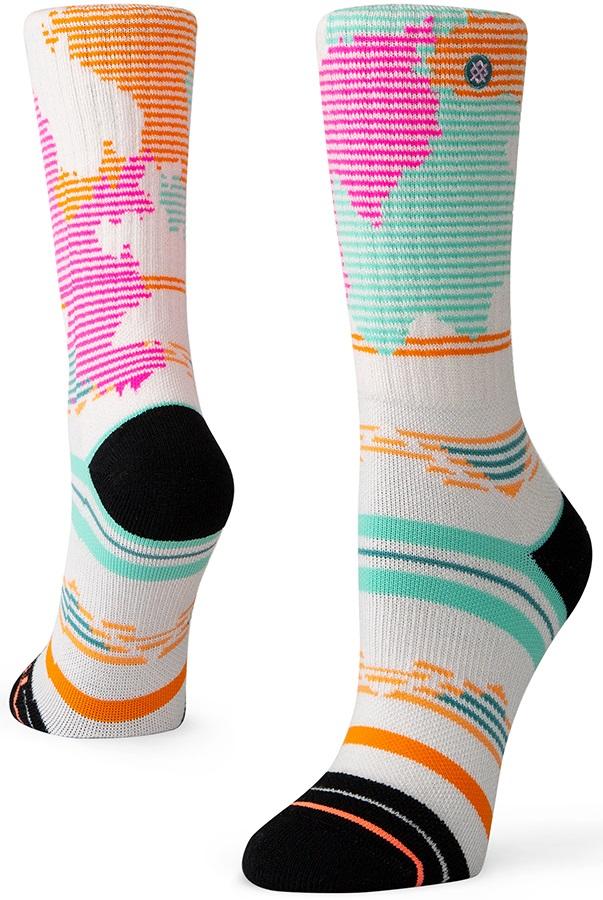 Stance Rhosite Outdoor Walking/Hiking Socks, S Pink