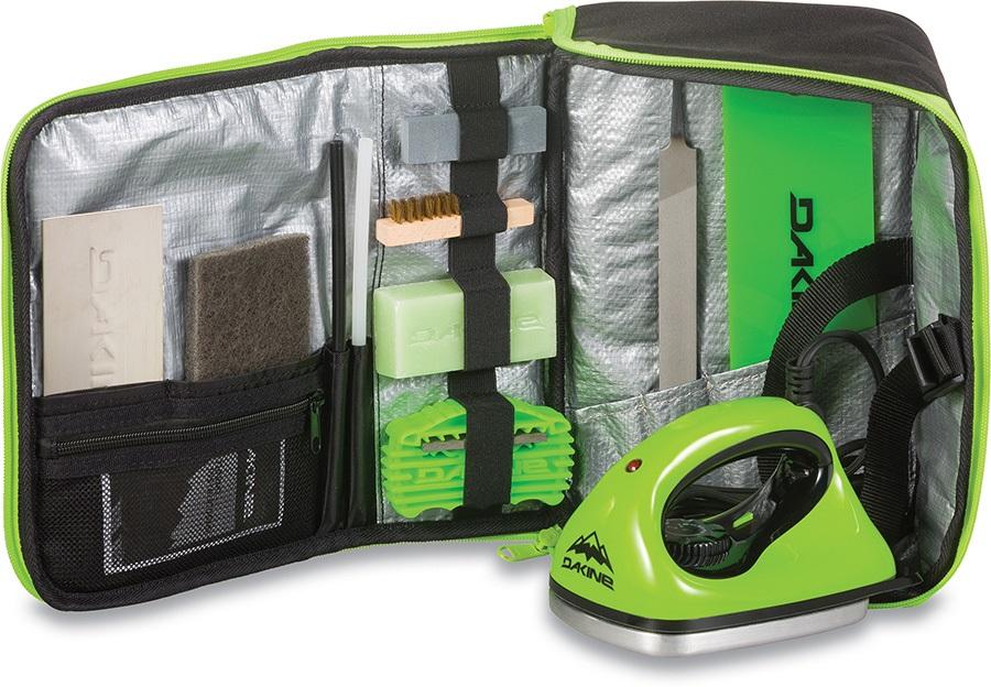 Dakine Super Tune Euro Ski/Snowboard Tune Kit, Black/Green