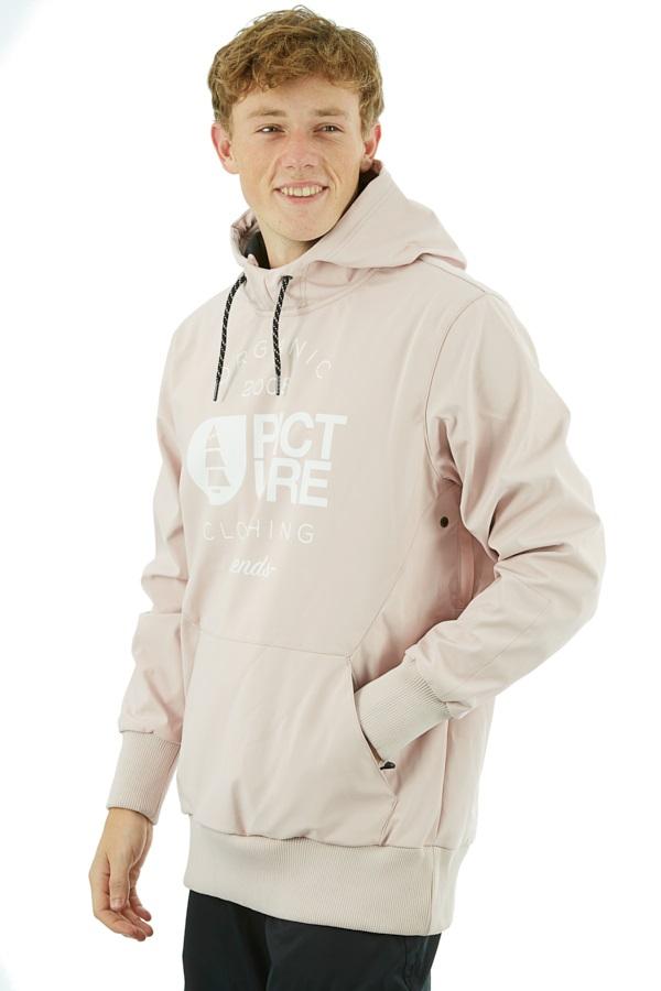 Picture Parker Softshell DWR Hoodie, XS Pink