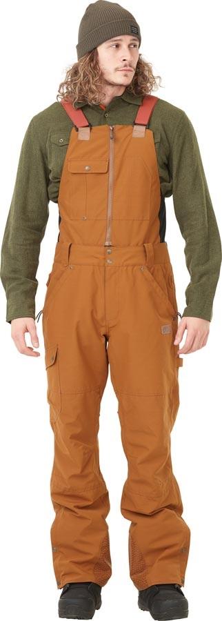 Picture Yakoumo Bib Ski/Snowboard Pants, XL Camel