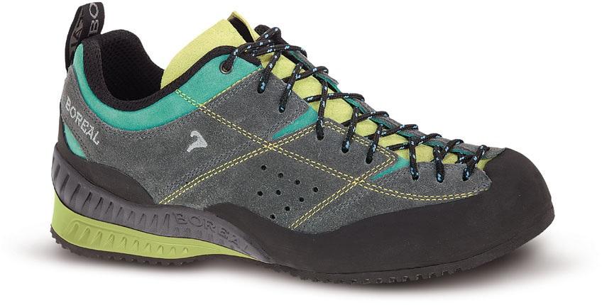 Boreal Flyers Womens Approach/Walking Shoe, UK 7.5 Grey/Lime